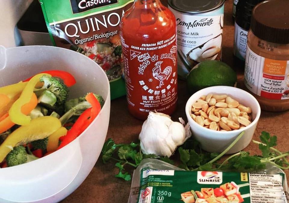 The Coup's Peanut Satay Dragon Bowl Recipe